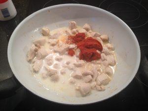 Kruiden voor de  glutenvrije thaise curry