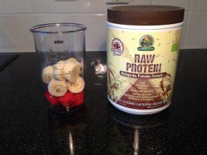Glutenvrije proteine shake