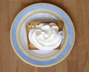 Glutenvrije cake resultaat