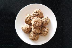 glutenvrije banaan oatmeal chocolate chip koekjes